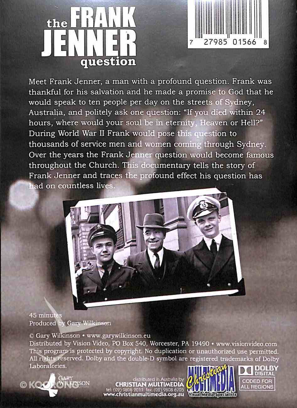 The Frank Jenner Question DVD