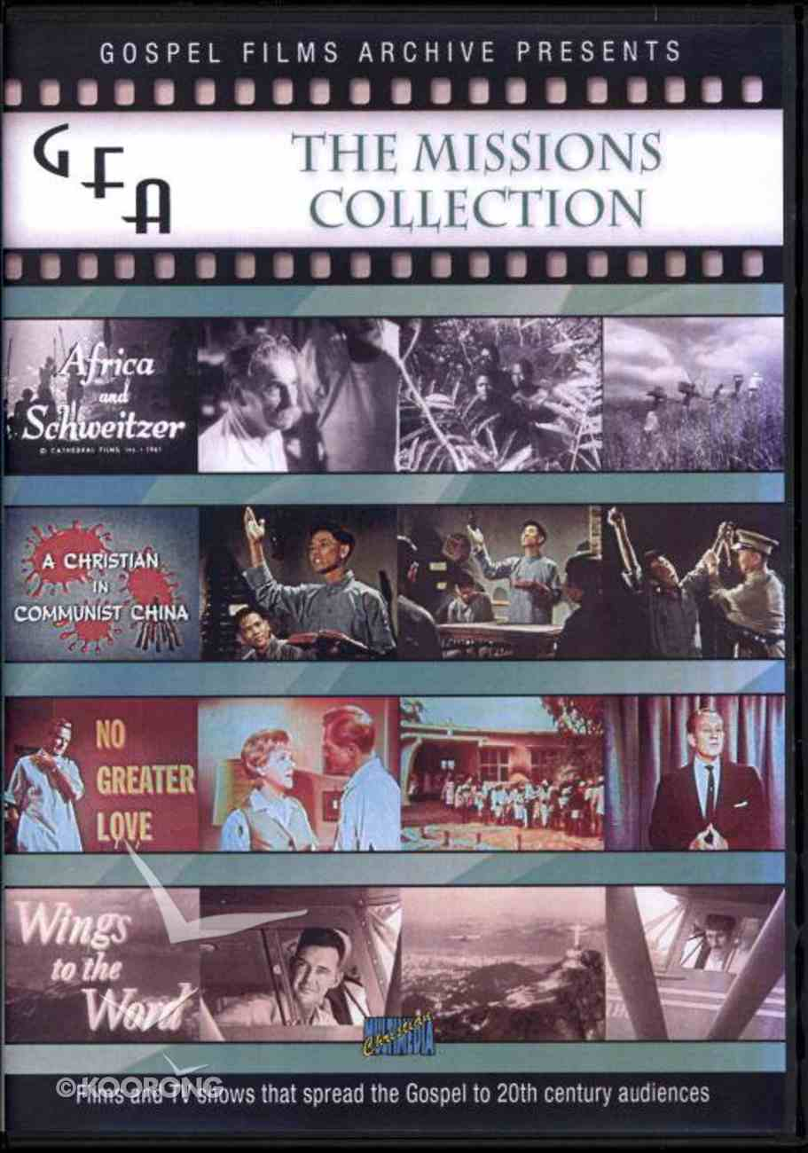 Gospel Films Archive: The Missions Collection 1951-1961 DVD