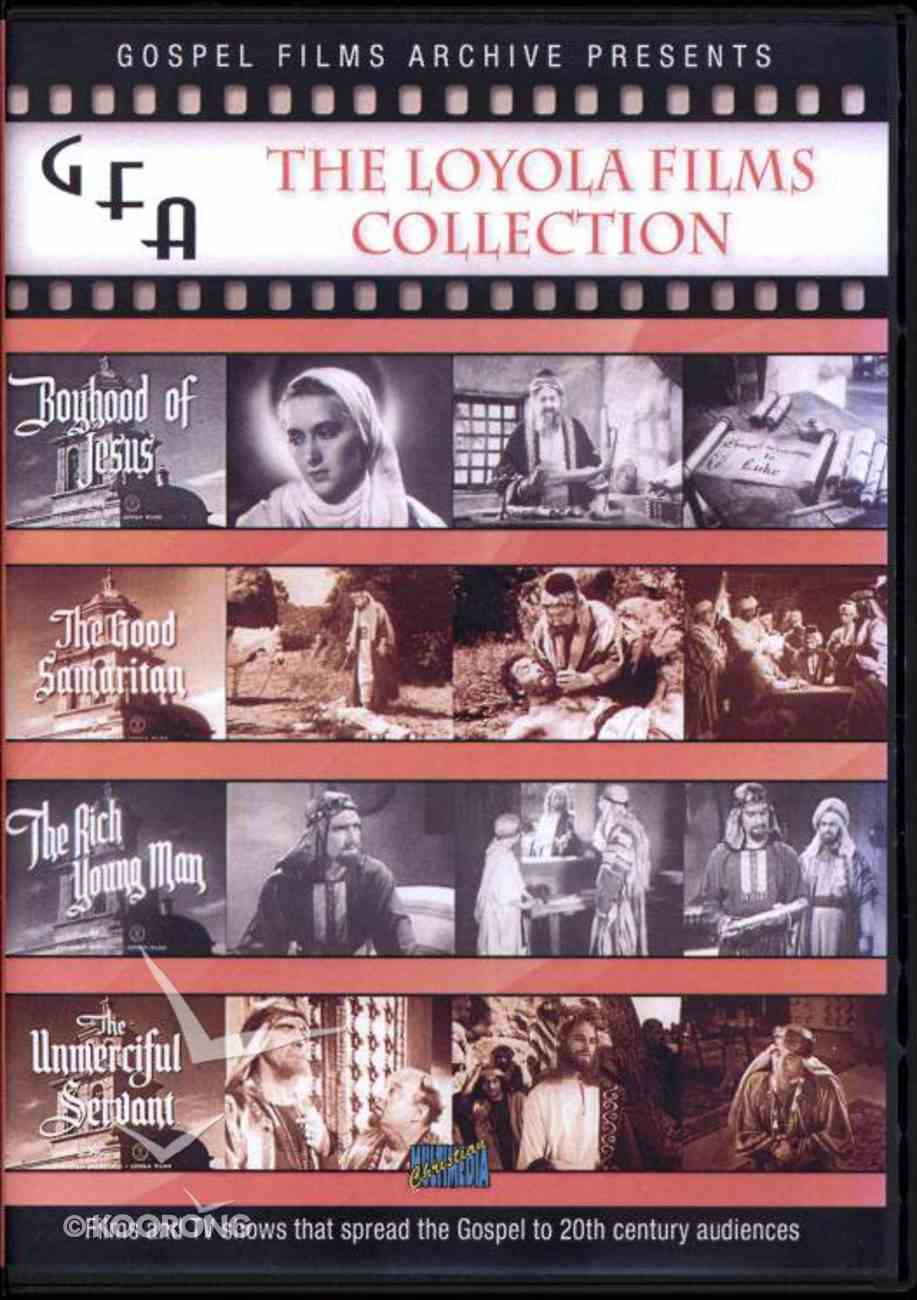Gospel Film Archive: The Loyola Films Collection 1951-1961 DVD