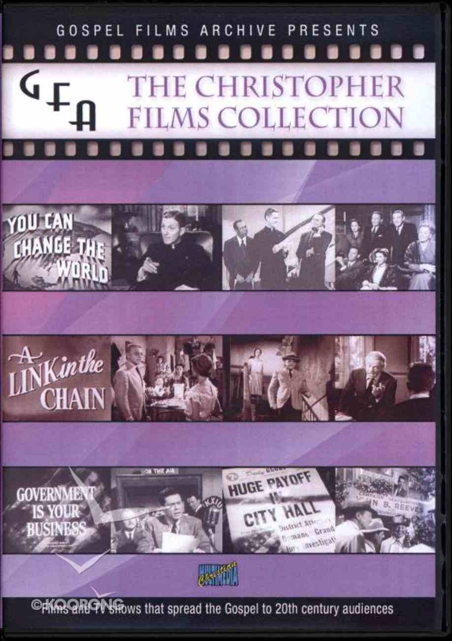 Gospel Film Archive: The Christopher Films Collection 1951-1961 DVD