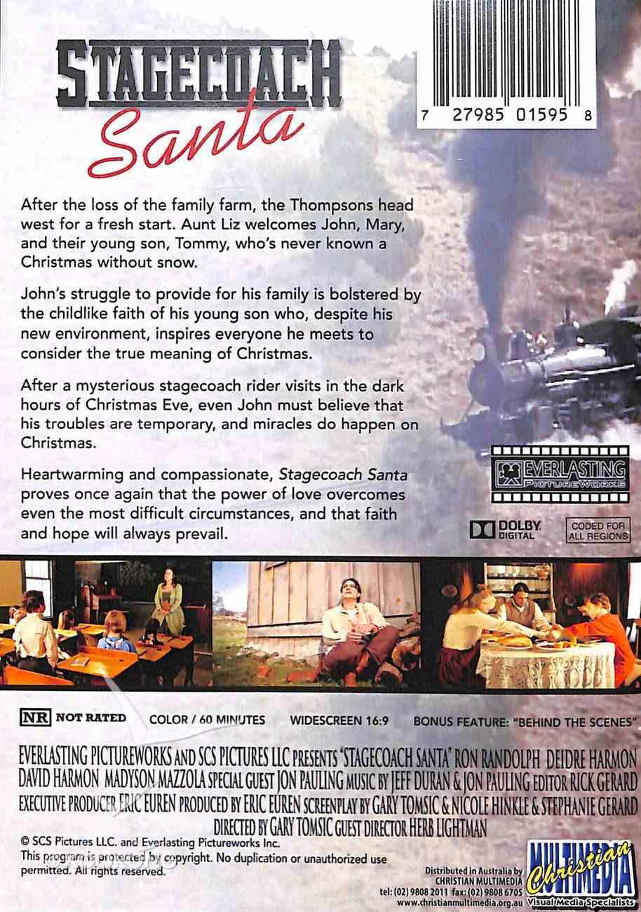 Stagecoach Santa DVD