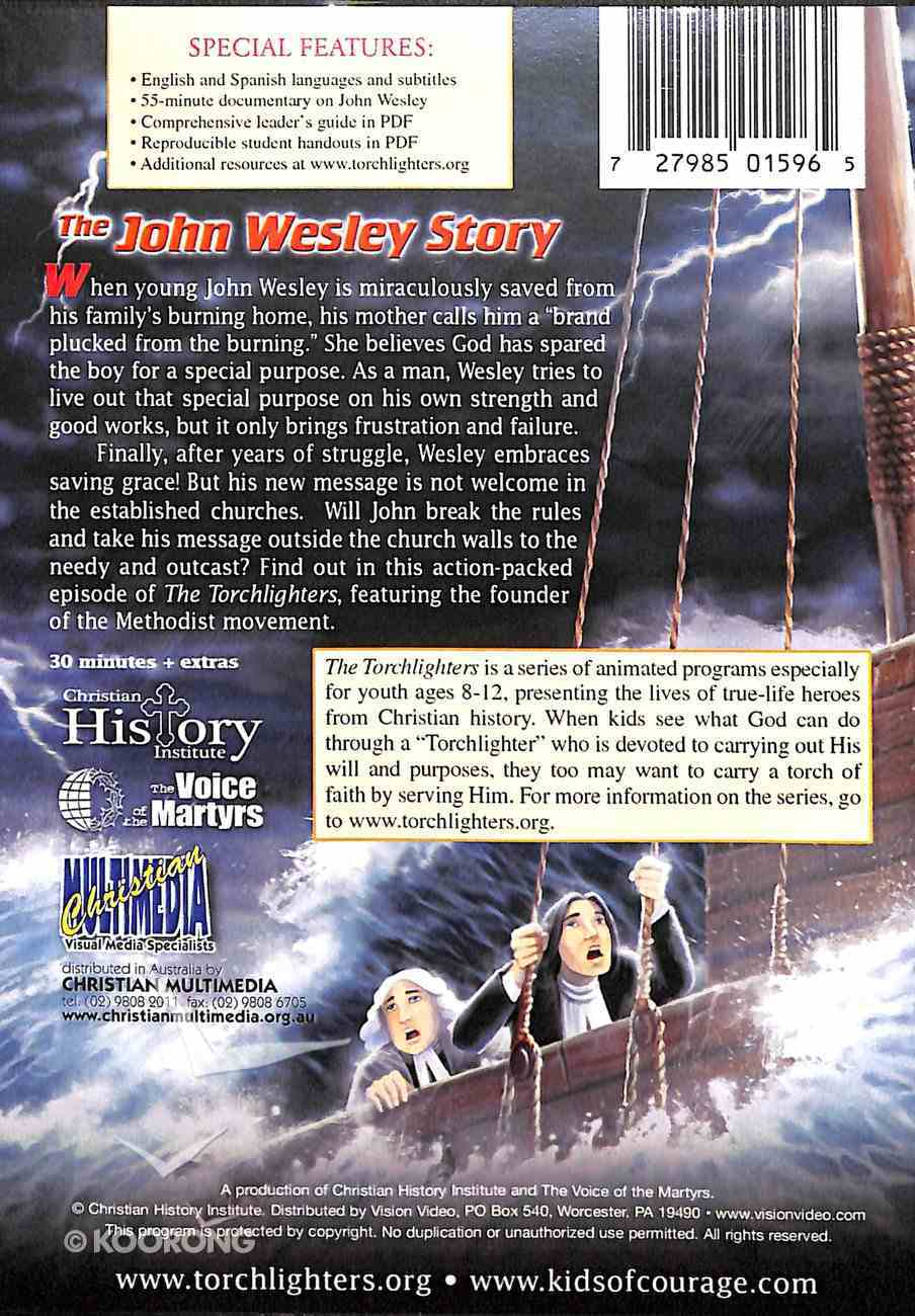 The John Wesley Story (Torchlighters Heroes Of The Faith Series) DVD