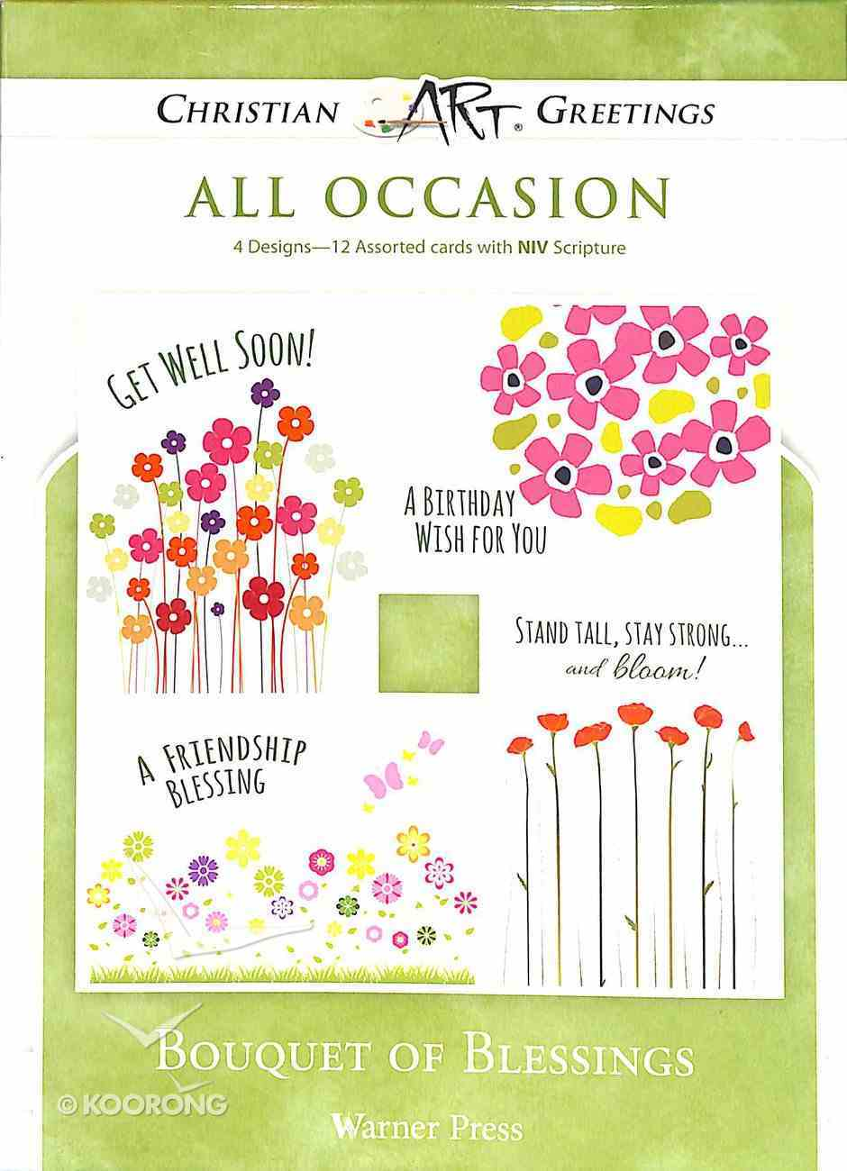 Boxed Cards: All Occasions - Bouquet of Blessings Box