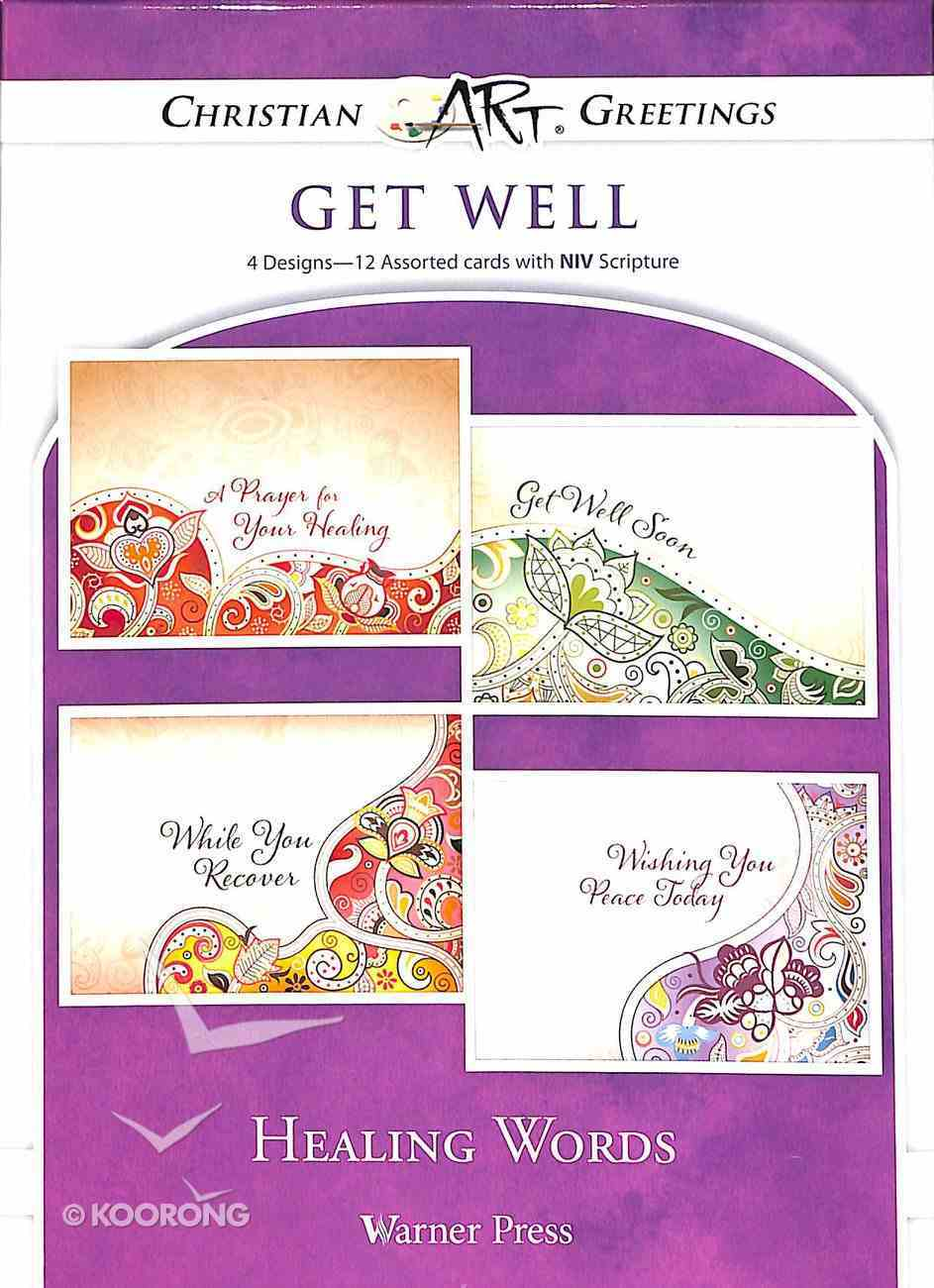 Boxed Cards: Get Well - Healing Words Box