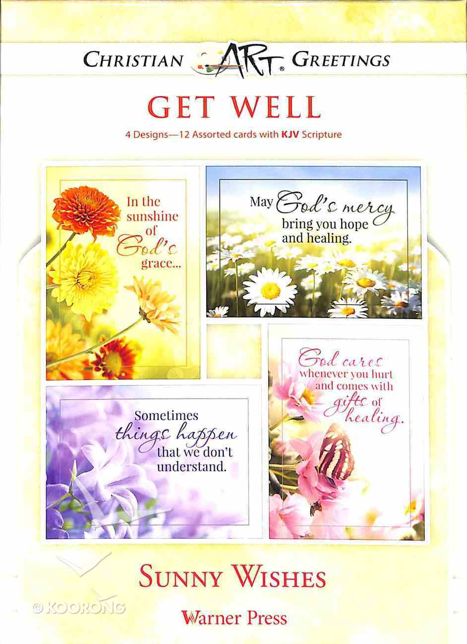 Boxed Cards: Get Well - Sunny Wishes Box