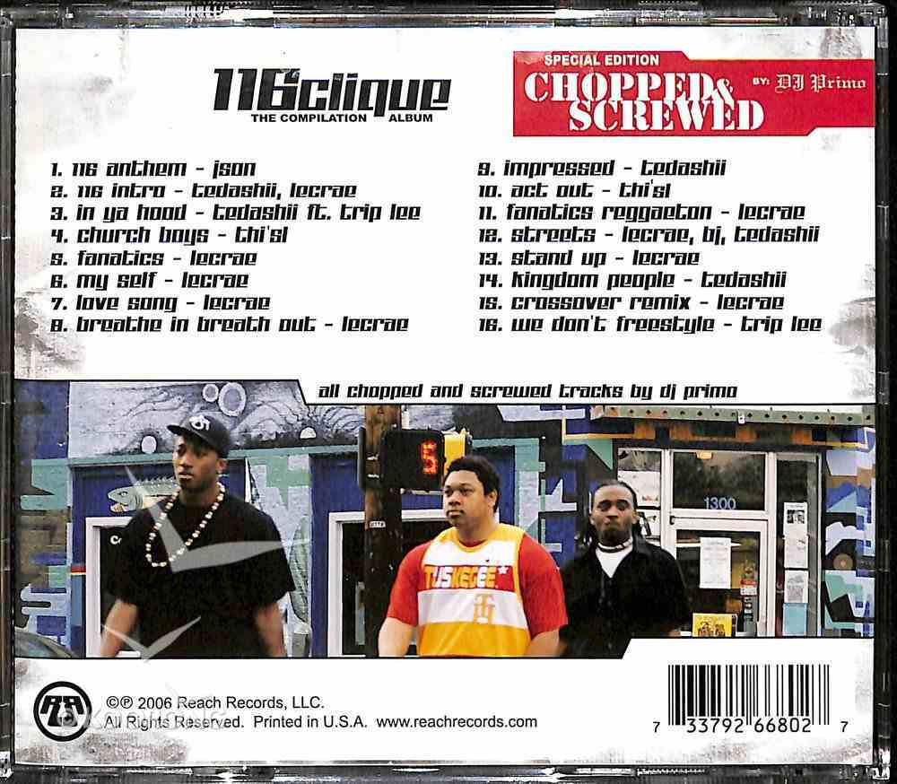 Chopped & Screwed: Compilation Album CD
