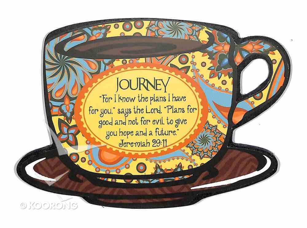 Mocha Plaques: 'Journey' For I Know the Plans I Have For You Plaque