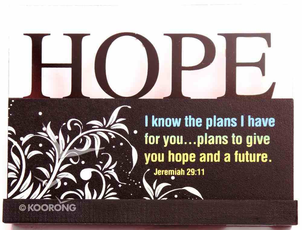 Lifewords Plaque: Hope Plaque