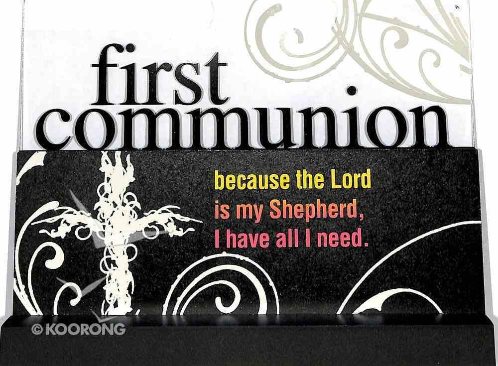 Lifewords Plaque: First Communion Plaque