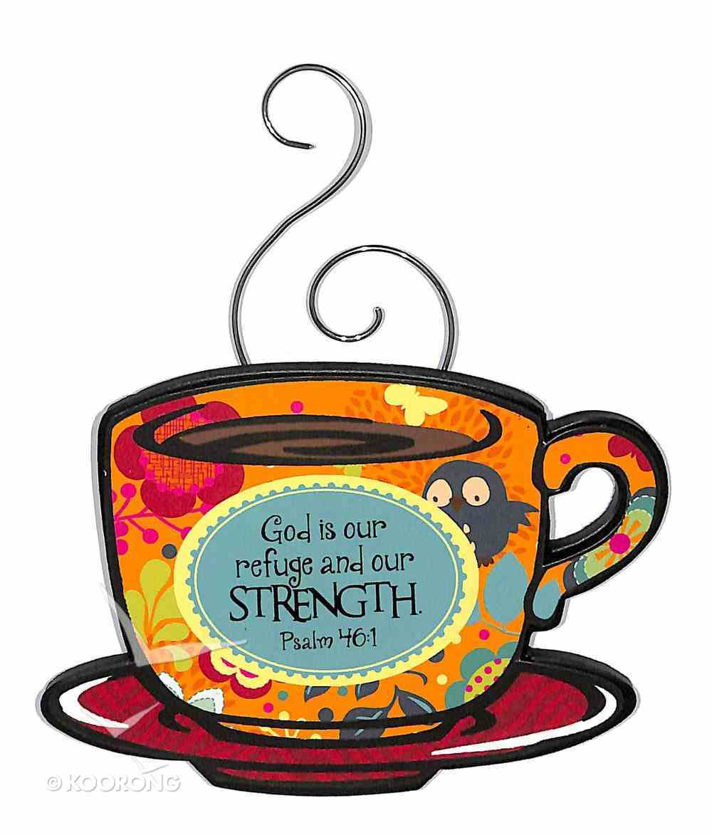 Mocha Expressions Magnets: God is Our Refuge and Our Strength Novelty