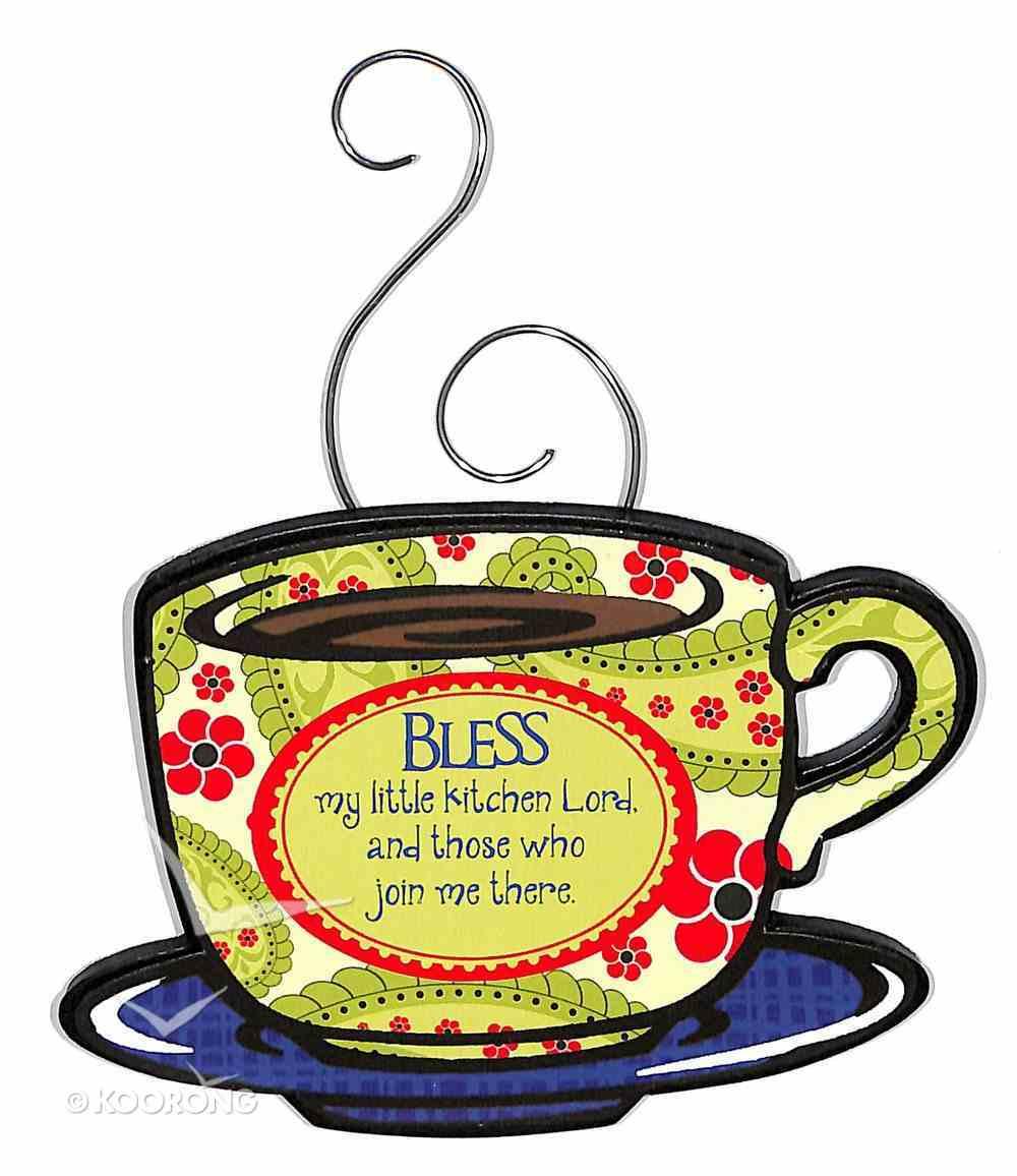 Mocha Expressions Magnets: Bless My Little Kitchen Lord... Novelty