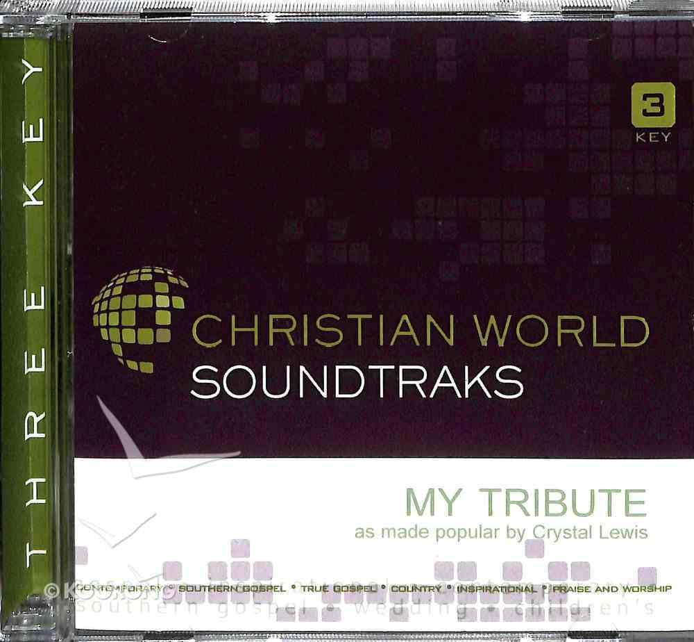 My Tribute (Accompaniment) CD
