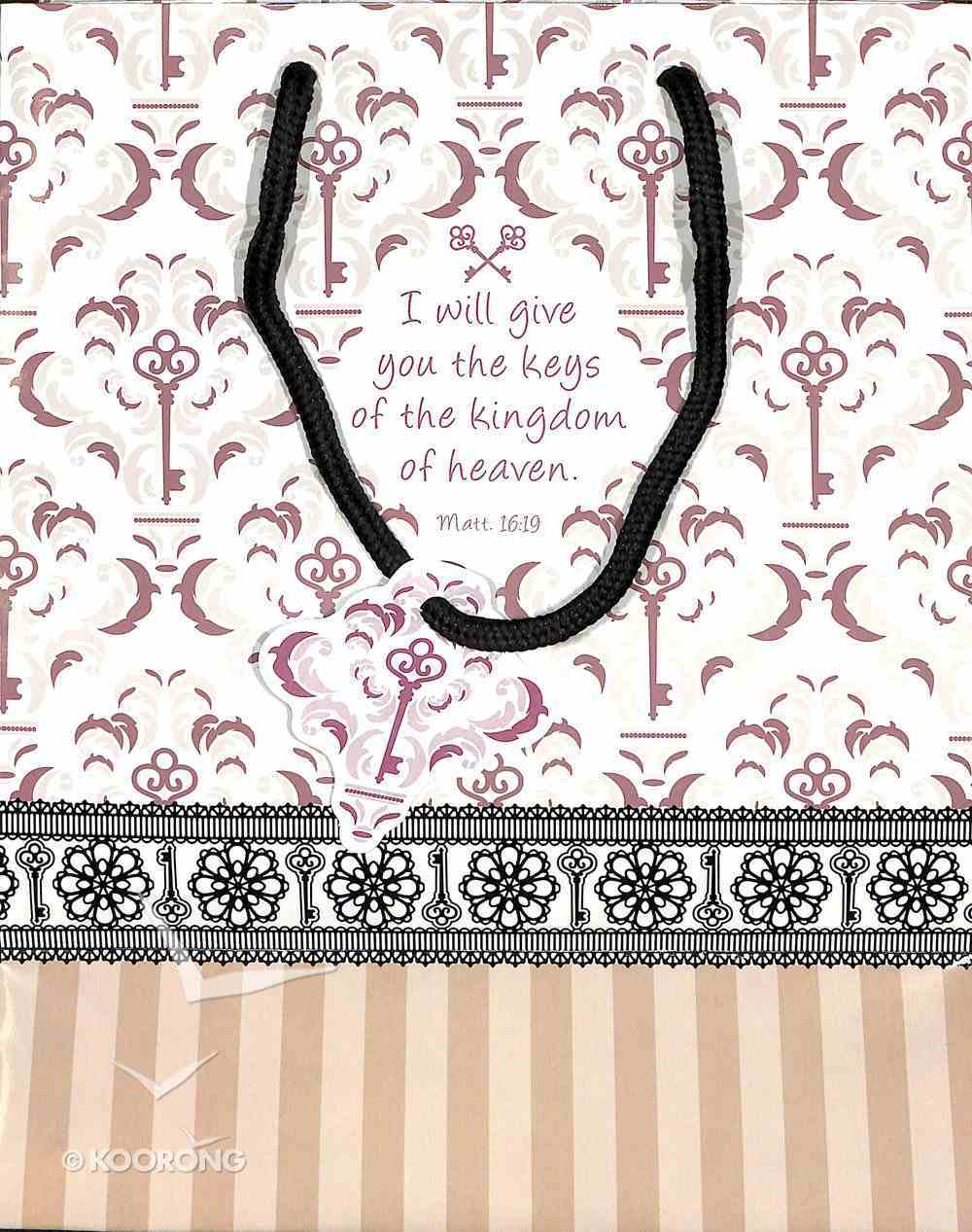 Gift Bag Medium: Keys of the Kingdom Stationery
