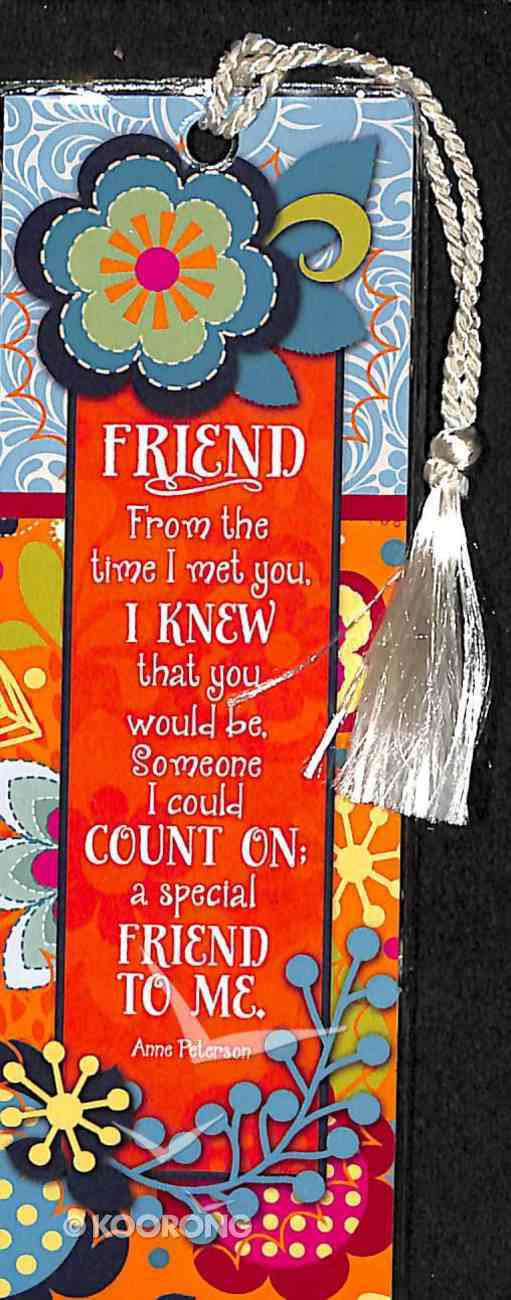 Bookmark With Tassel: Friend Stationery