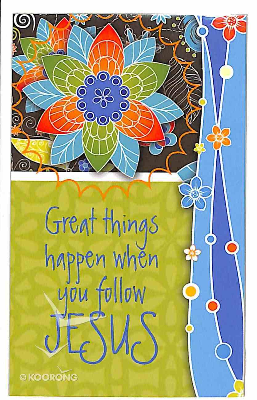 Simply Magnets: Great Things Happen When You Follow Jesus Novelty