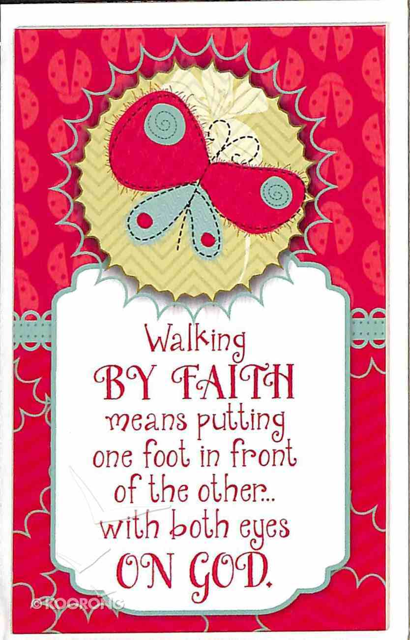Simply Magnets: Walking By Faith... Novelty