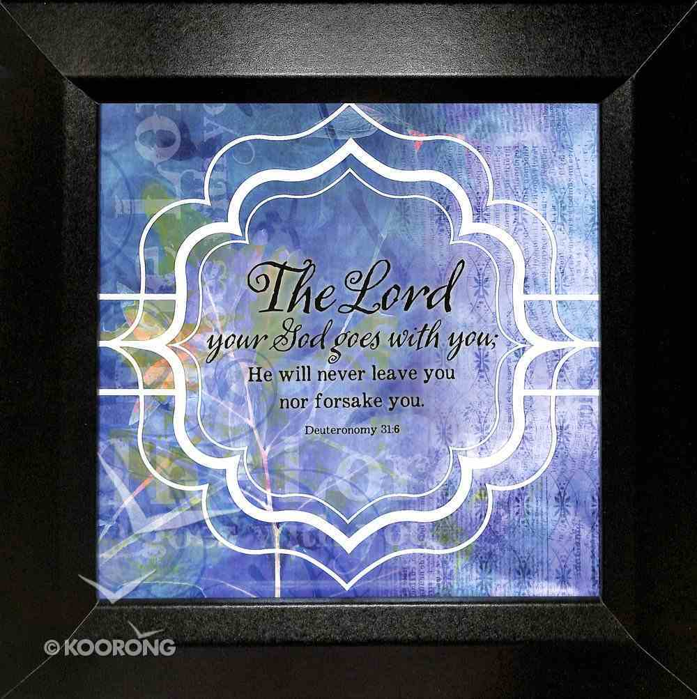 Truth Squared Plaque: The Lord Your God Plaque