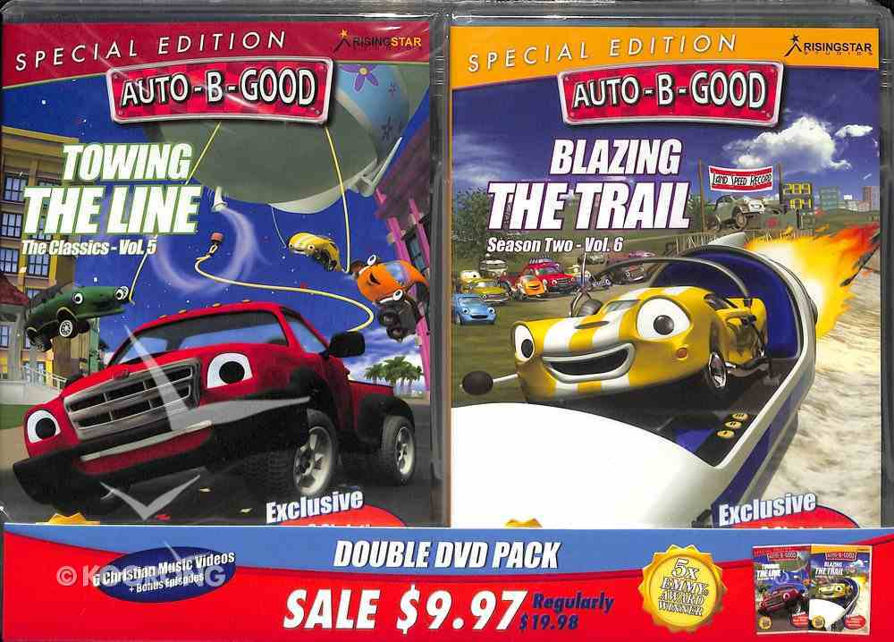 Towing the Line/Blazing the Trail (Auto B Good Dvd Special Double Pack Series) DVD