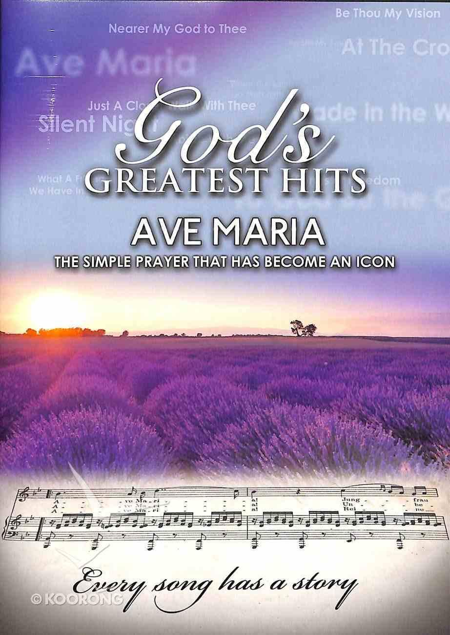 God's Greatest Hits: Ave Maria DVD
