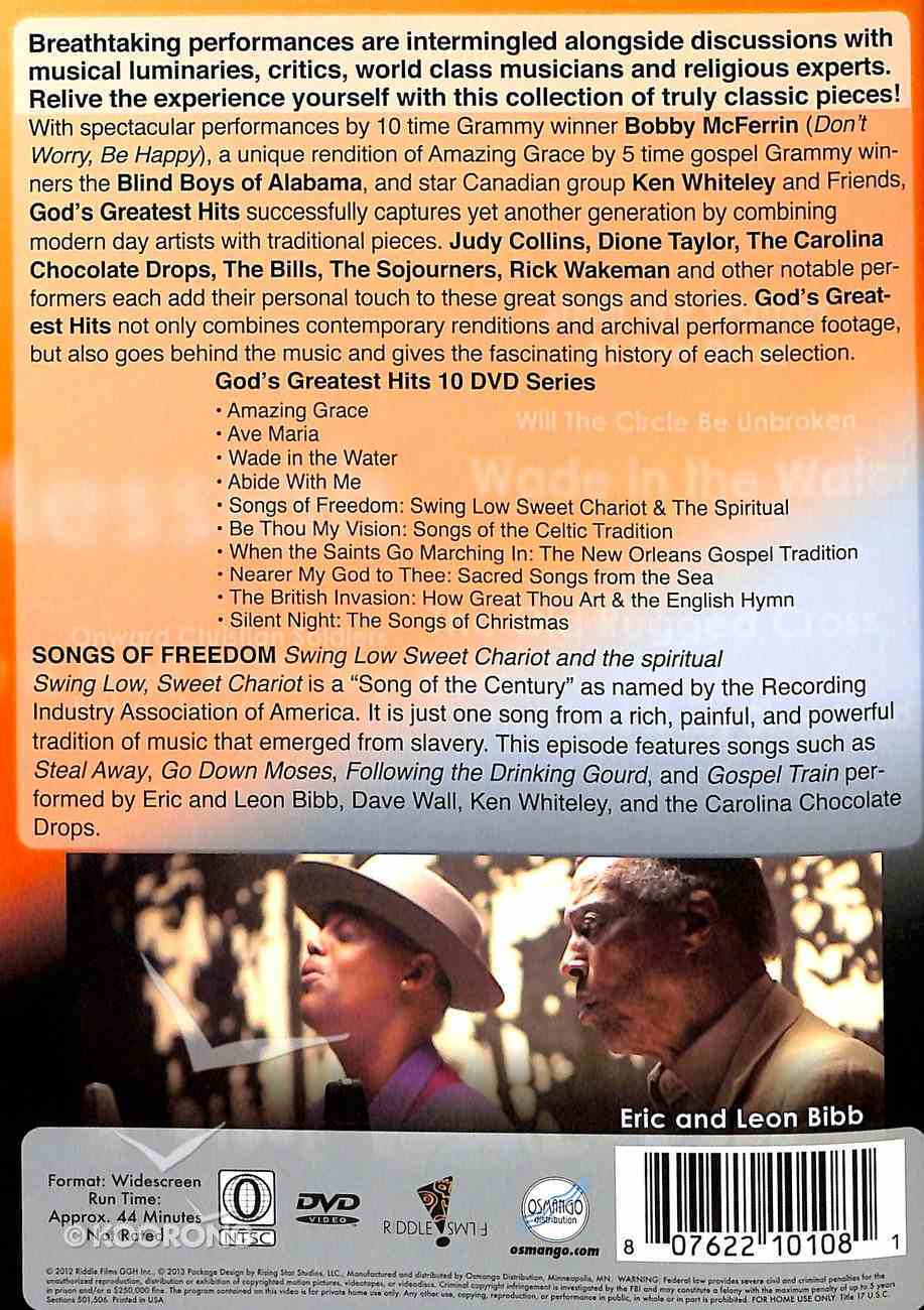 God's Greatest Hits: Songs of Freedom DVD