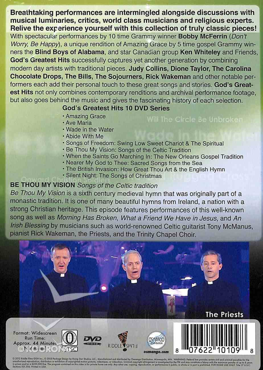 God's Greatest Hits: Be Thou My Vision DVD