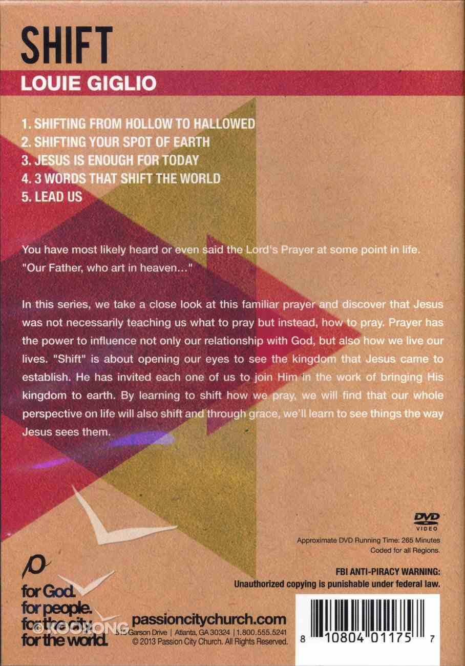 Shift (5 Messages) DVD