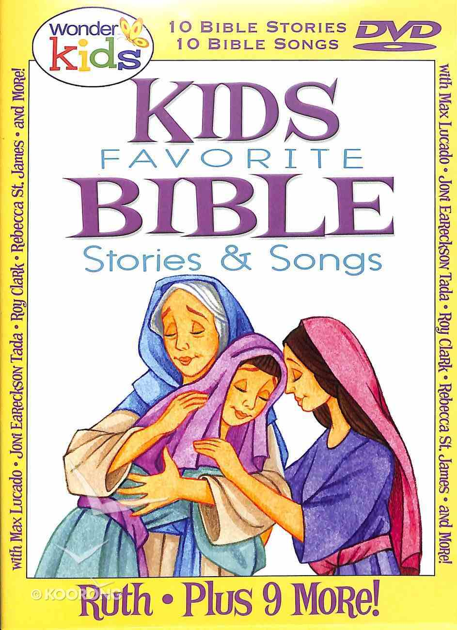 Kids' Favourite Bible Stories & Songs: Ruth DVD