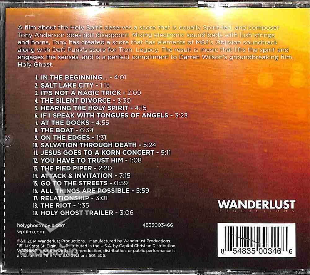 Holy Ghost Original Movie Soundtrack CD