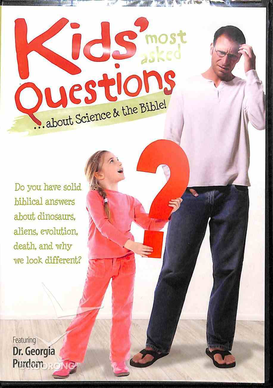 Kids' Most-Asked Questions About Science and the Bible DVD