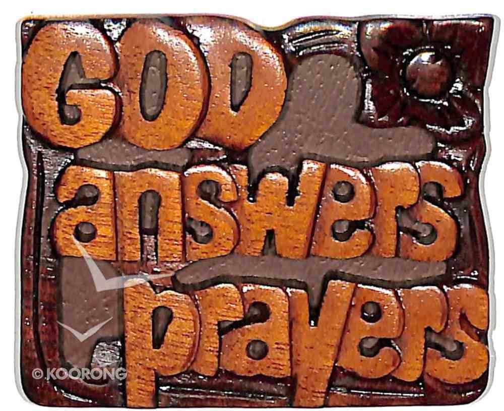 Magnet: God Answers Prayers Novelty