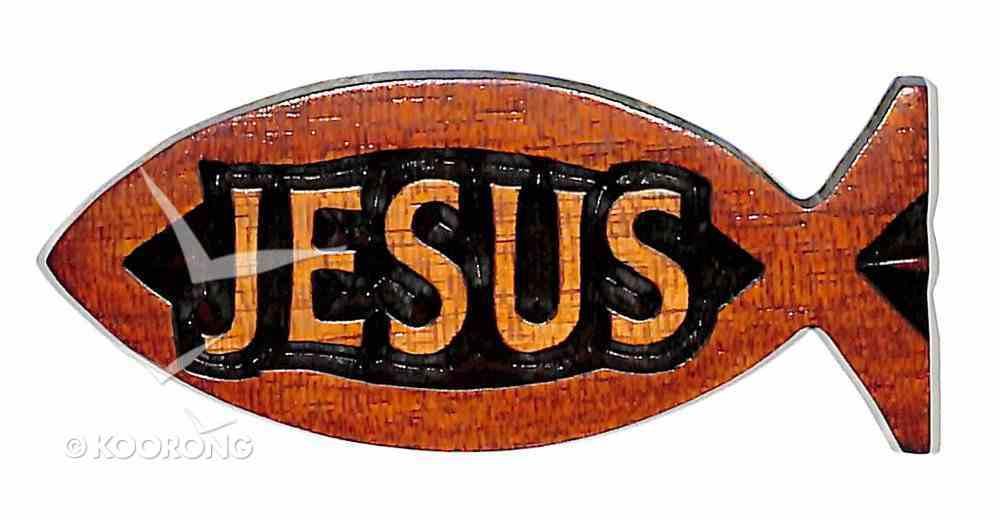 Fish Magnet: Jesus Novelty