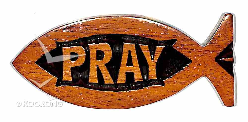 Fish Magnet: Pray Novelty