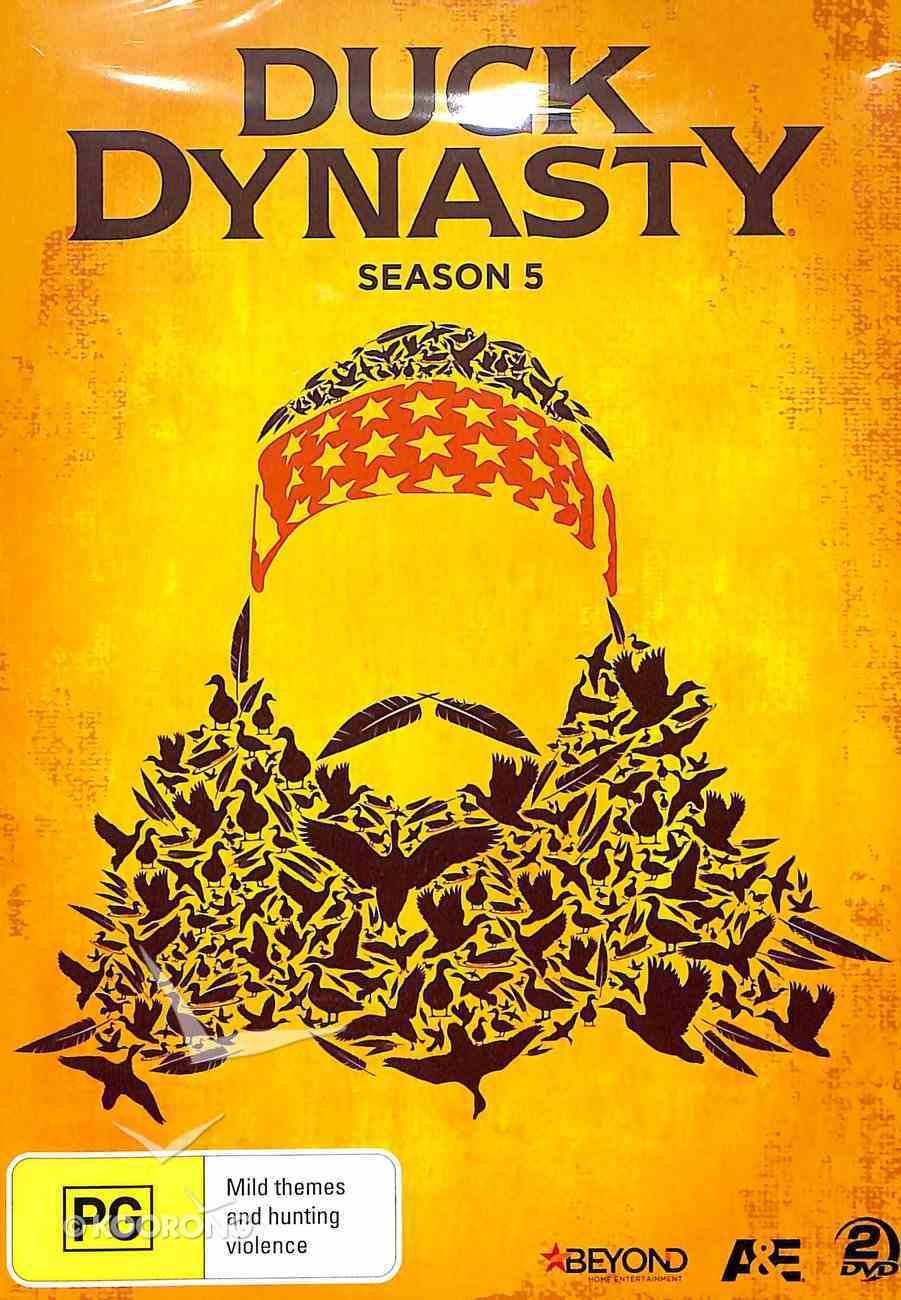 Season 5 (2 DVD Set) (#05 in Duck Dynasty Series) DVD