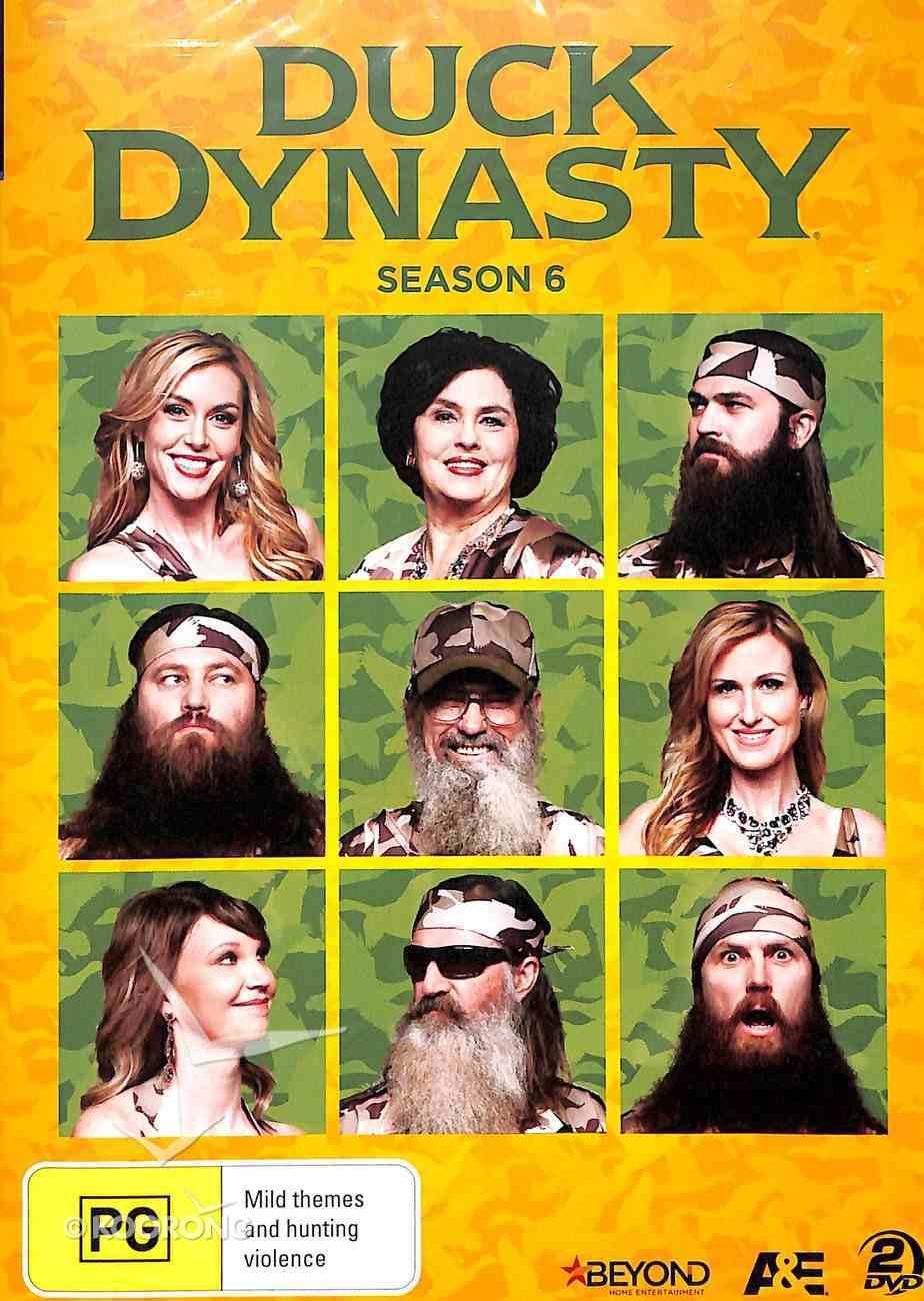 Season 6 (2 DVD Set) (#06 in Duck Dynasty Series) DVD