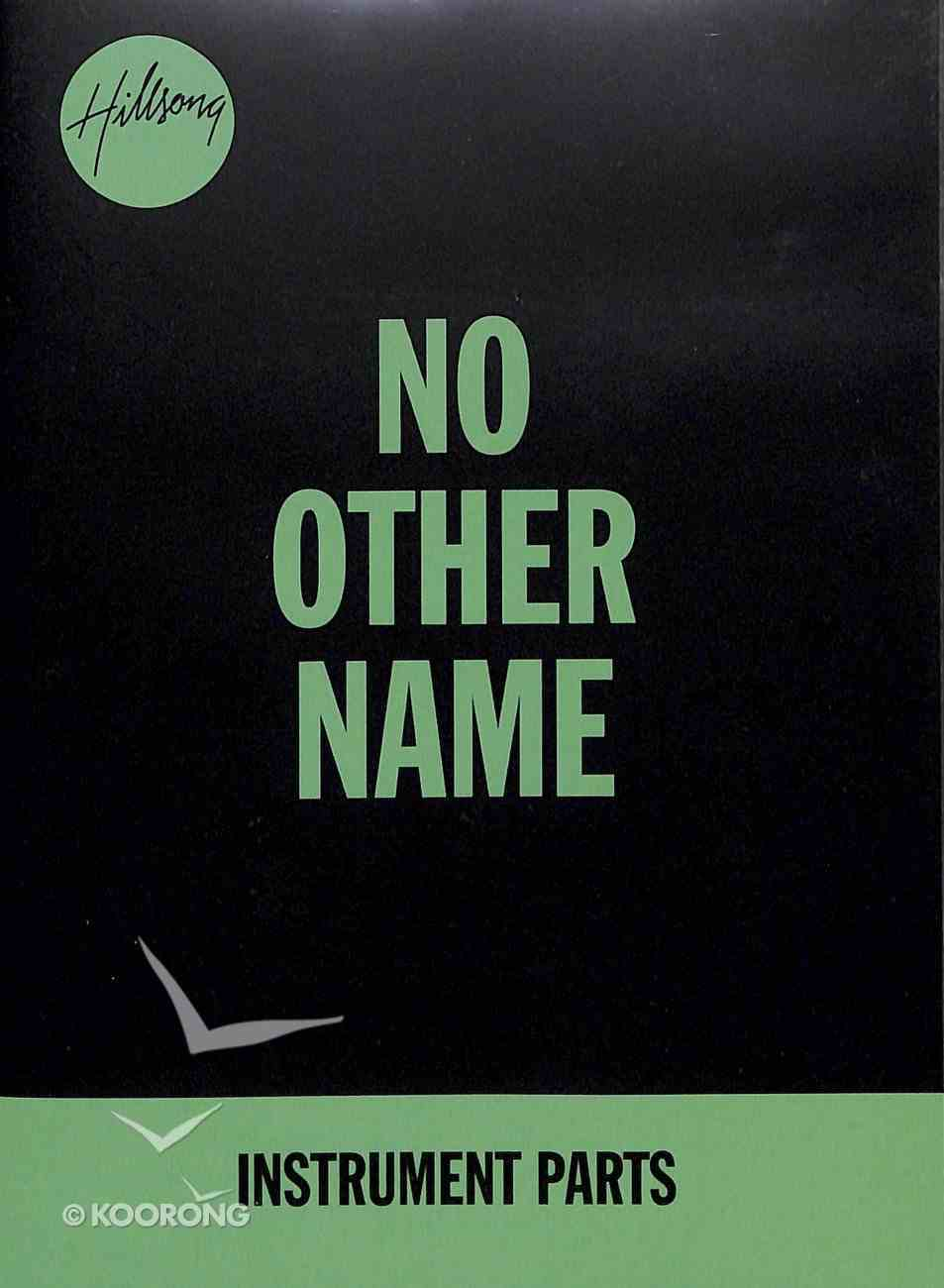 2014 No Other Name (Instrument Parts) CD