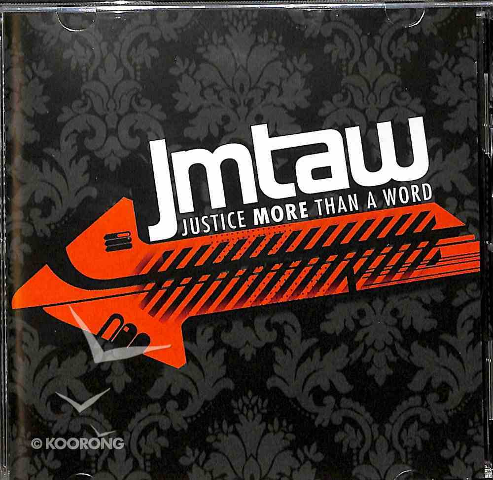 Justice More Than a Word CD