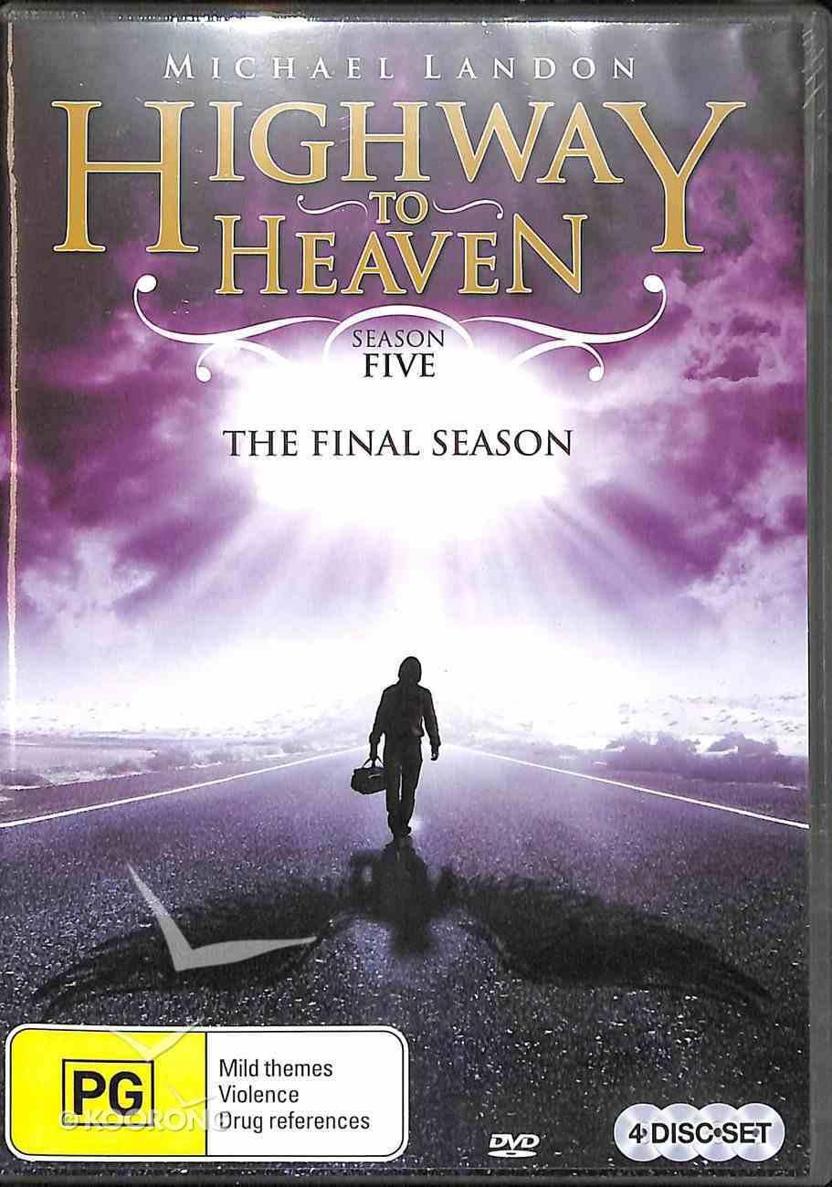 Highway to Heaven - Season 5 (4 Discs) DVD