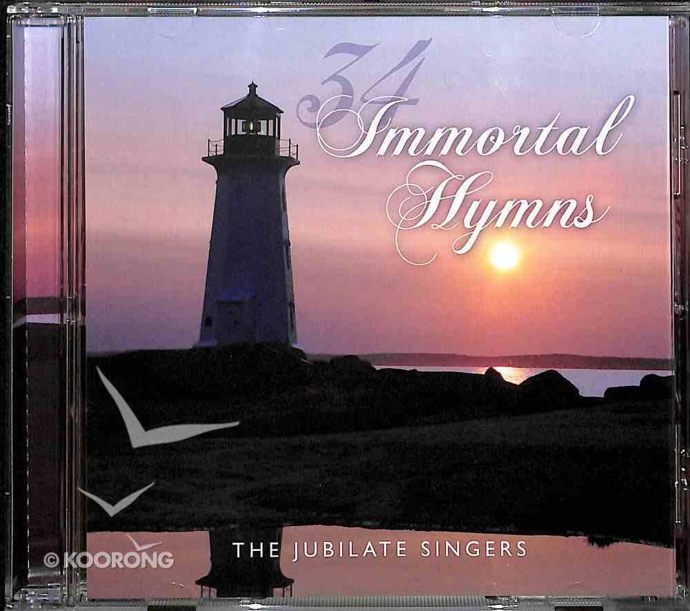 34 Immortal Hymns CD