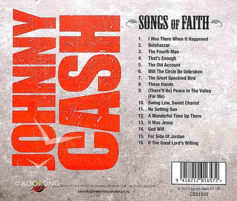 Songs of Faith CD