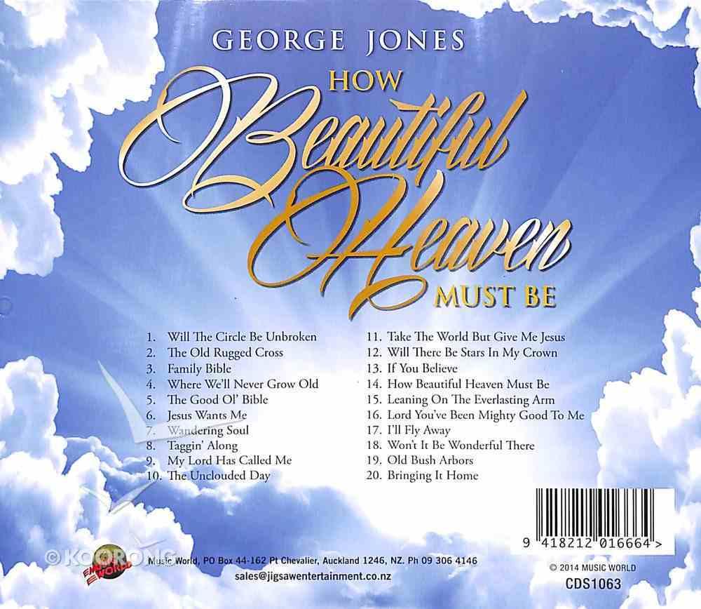 How Beautiful Heaven Must Be CD