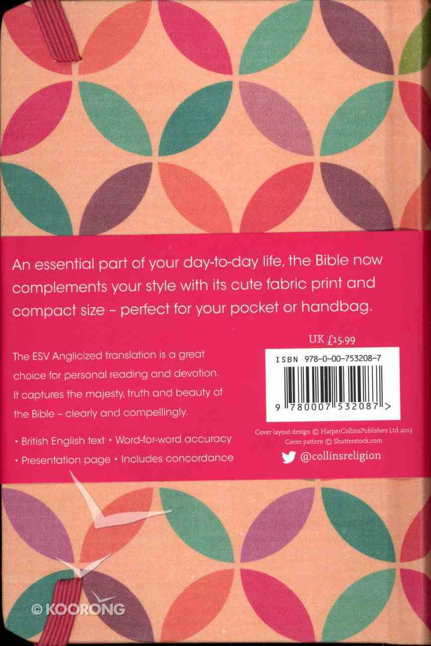 ESV Anglicized Compact Bible Petals Hardback