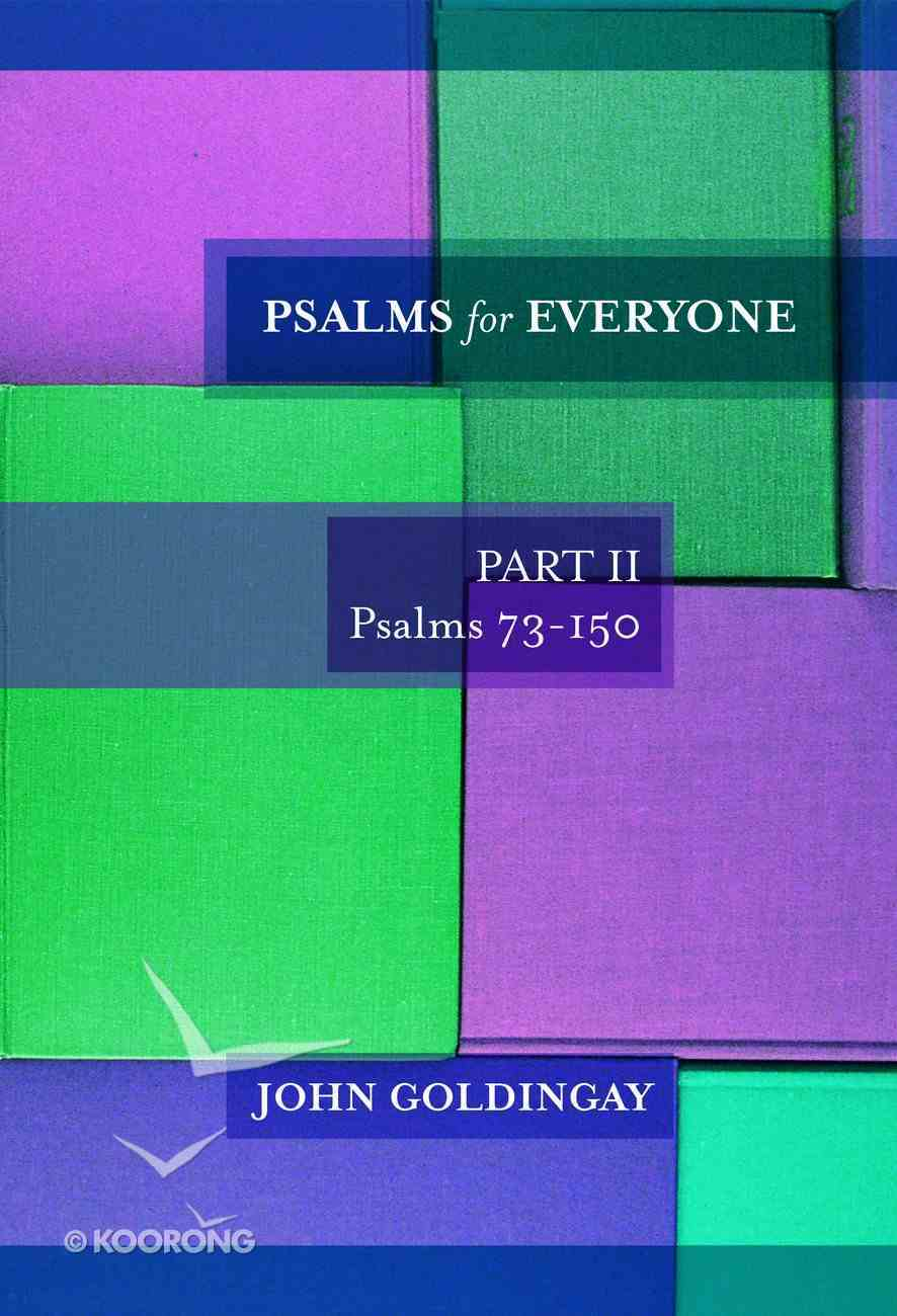 Psalms For Everyone (Volume 2) (Old Testament Guide For Everyone Series) Paperback