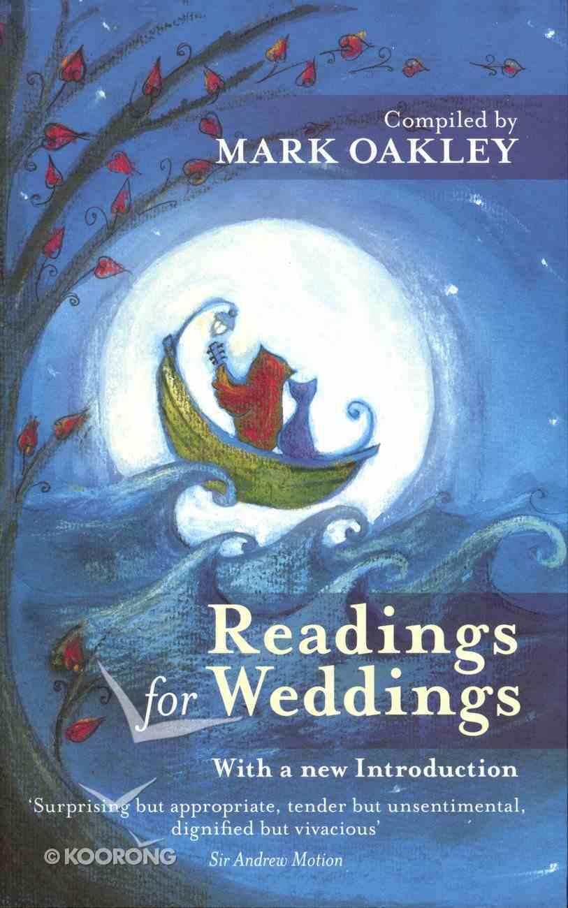 Readings For Weddings Paperback
