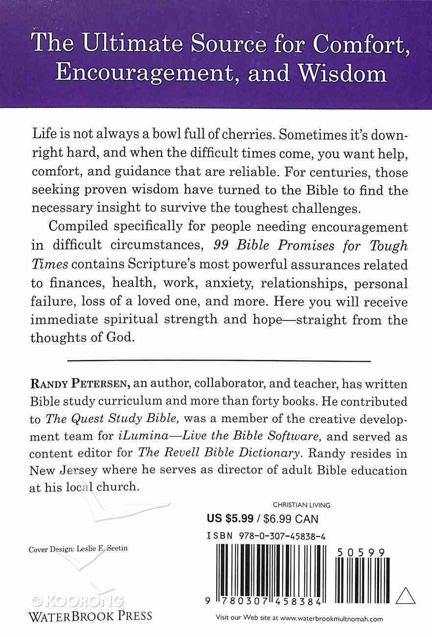 99 Bible Promises For Tough Times Paperback