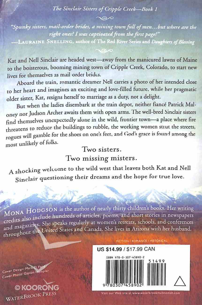 Sinclair Sisters #01: Two Brides Too Many (#01 in Sinclair Sisters Of Cripple Creek Series) Paperback