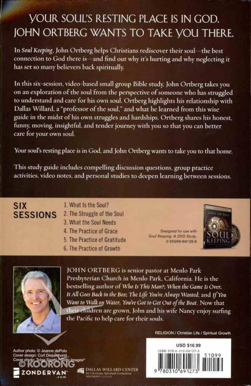 Soul Keeping (Study Guide With Dvd) Pack