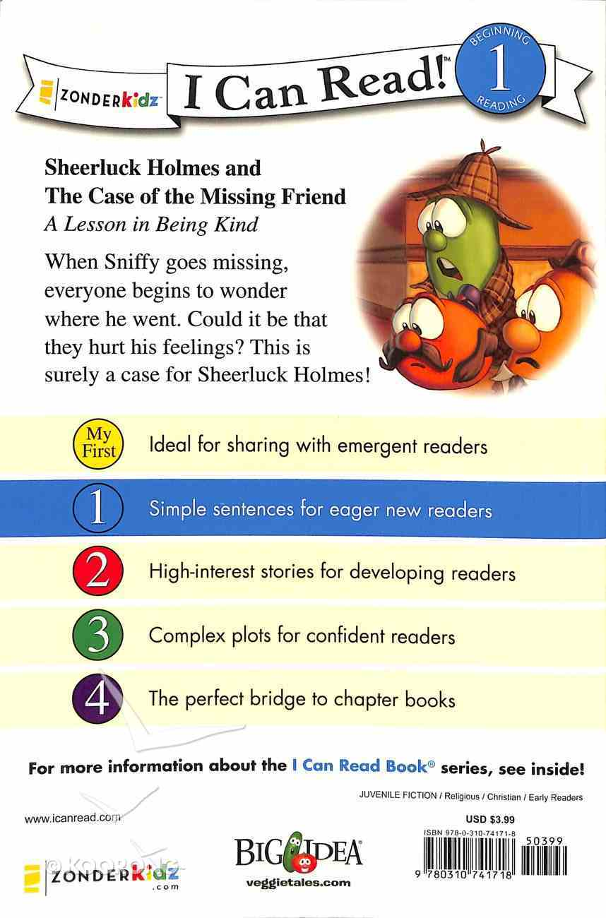 Sheerluck Holmes and the Case of the Missing Friend (I Can Read!1/veggietales Series) Paperback