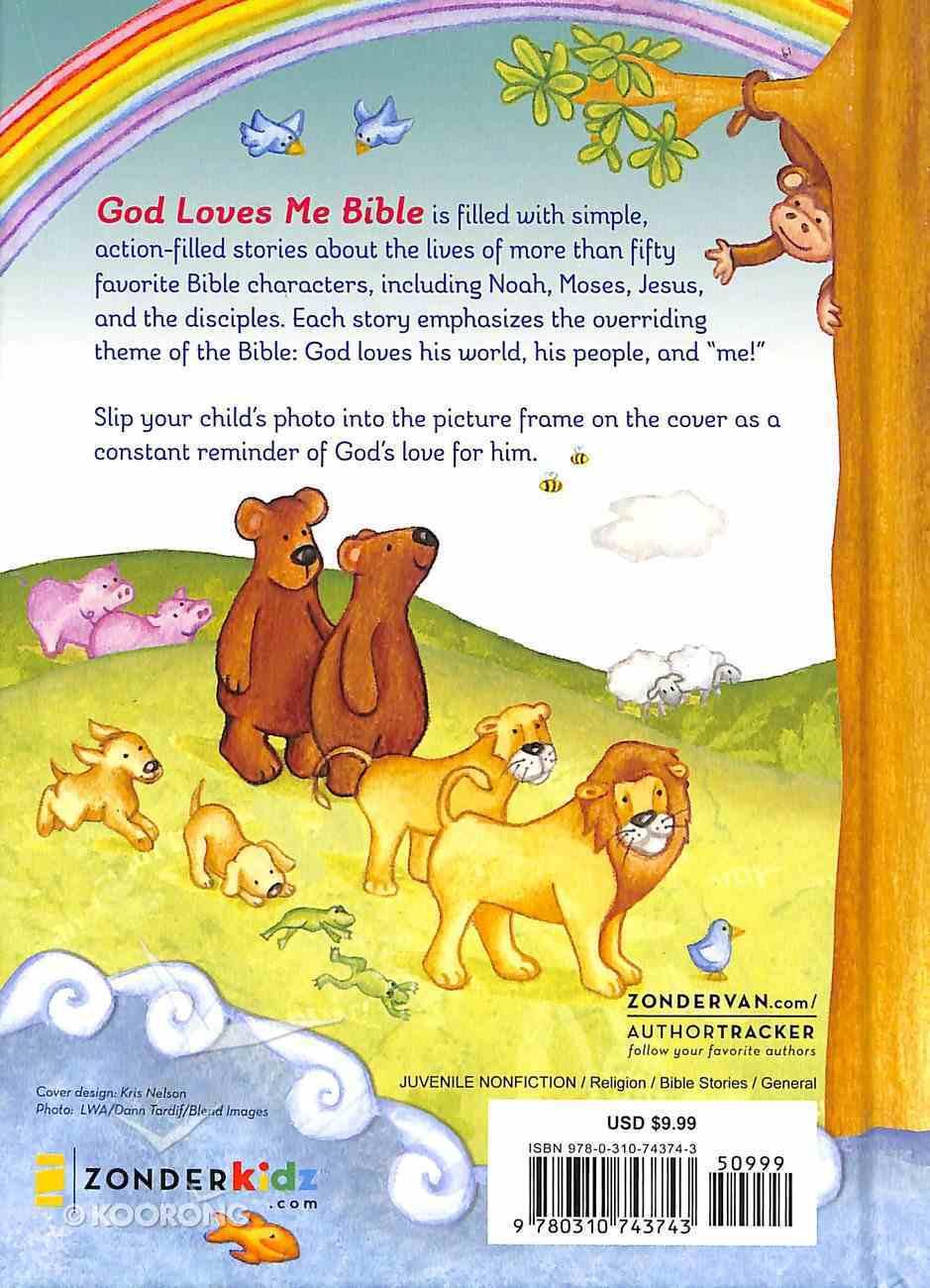 God Loves Me Bible (Newly Illustrated Edition) Hardback