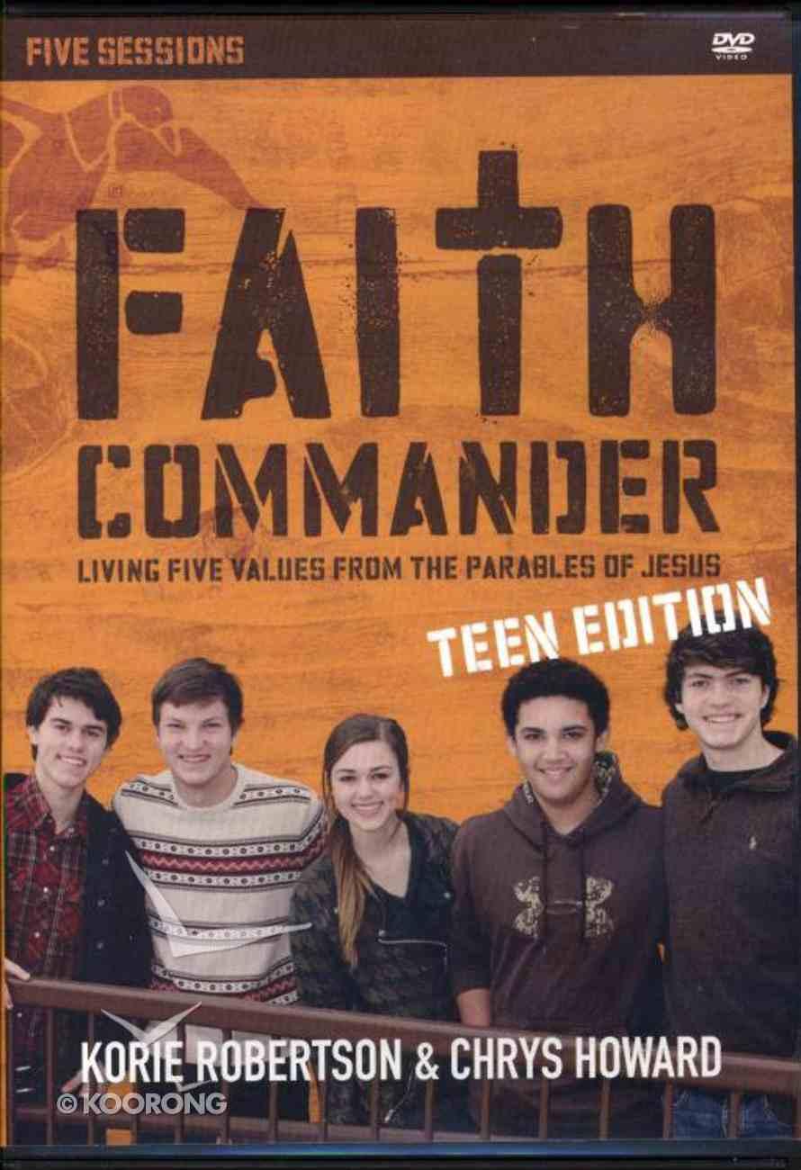 Faith Commander Teen Edition (Duck Dynasty) (With Dvd) Pack
