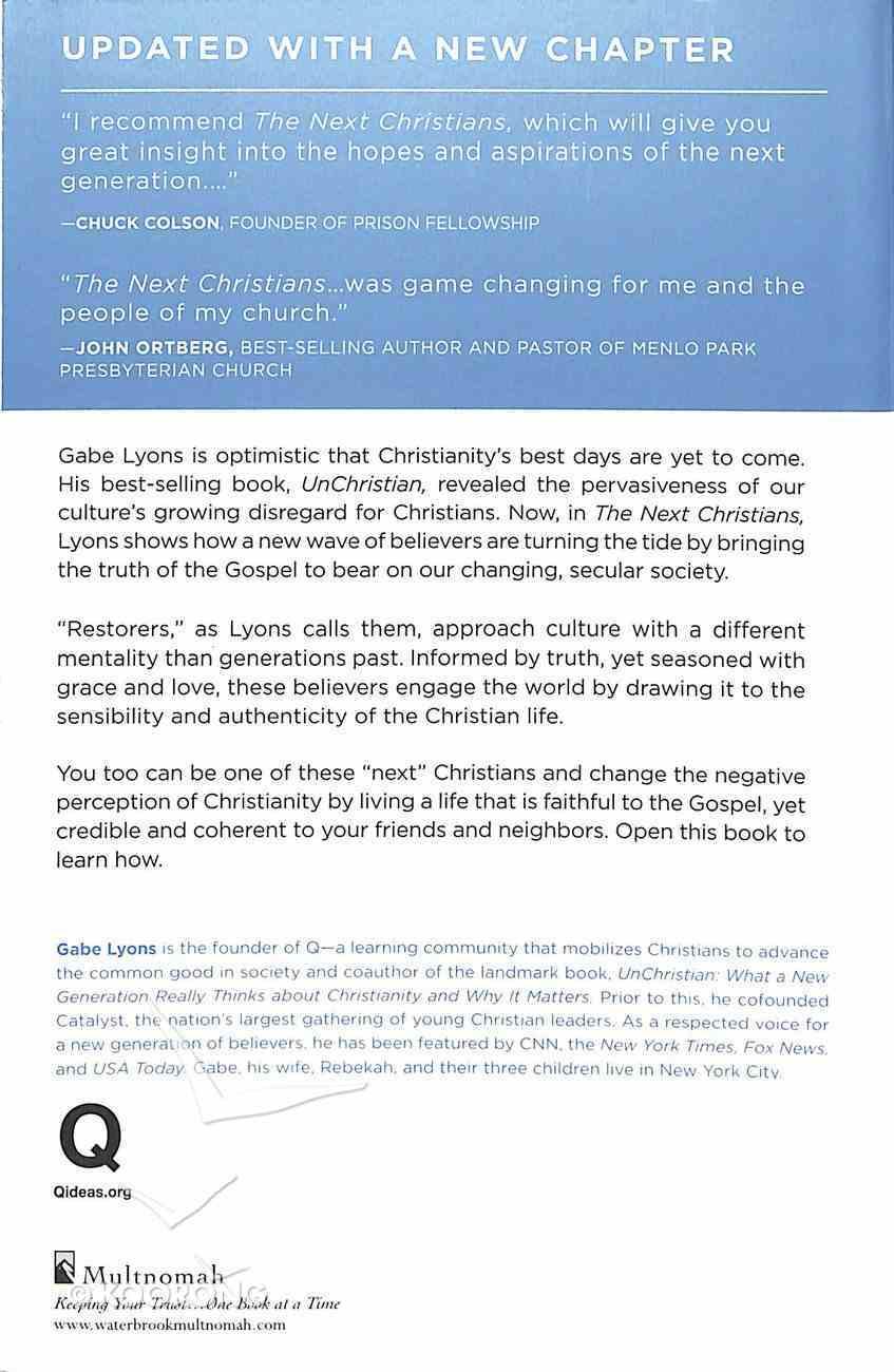 The Next Christians Paperback